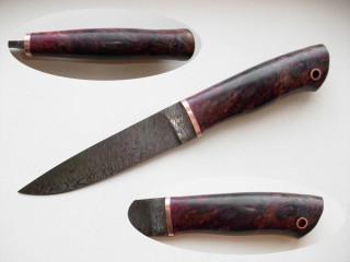 Изготовление рукояти ножа из стабилизированной древесины