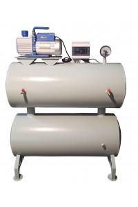 Вакуумная станция /Вакуумный ресивер 250 литров с насосом