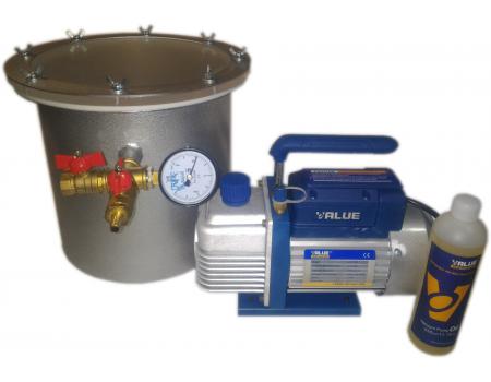 Мановакуумная система для дегазации и литья под давлением (250*250) 12 л.