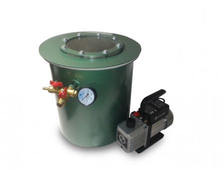 Вакуумная система для дегазации (350*350) 33 л.